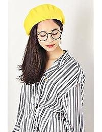 (ヘナナ) HENANA ベレー帽 ニット帽 フェルトニットキャップ女性用 春 防寒対策帽子 レディース 画家帽 フェルト 162187