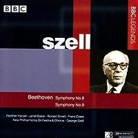 Symphonies 8 & 9 by LUDWIG VAN BEETHOVEN (2004-10-19)
