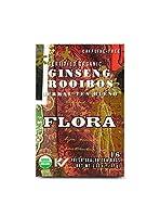 Flora - Caffeine-Free証明された有機性ハーブティーのブレンドのGinseng Rooibos - 1ティーバッグ