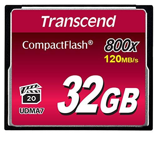 Transcend 800倍速CFカード 32GB TS32GCF800