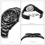af866bab14 位, BINLUN 腕時計 メンズ スケルトン ビジネス 防水 自動巻き オートマティック シースルーバック 24時間表示 ウォッチ … [並行輸入品]