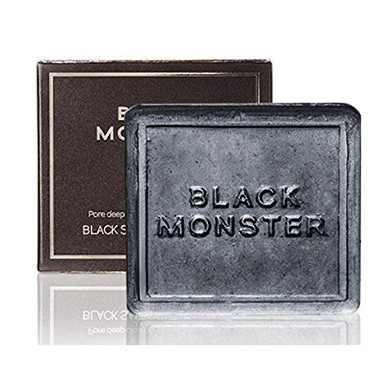 ホステル全国歌手[ブレンクTV] blanktv Black Monster ブラックソルトコントロールバー 120g 海外直送品 black salt control bar [並行輸入品]