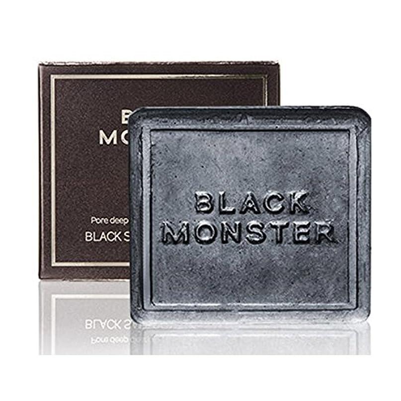 偶然ミネラルブルジョン[ブレンクTV] blanktv Black Monster ブラックソルトコントロールバー 120g 海外直送品 black salt control bar [並行輸入品]
