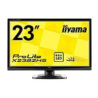 iiyama ディスプレイ モニター X2382HS-GB1 23インチ/フルHD/IPSパネル/LED/HDMI端子付