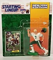 Starting Lineup Boomer Esiason Figure with Trading Card 1994 NFL Football New York Jets [並行輸入品]