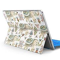 Surface pro6 pro2017 pro4 専用スキンシール サーフェス ノートブック ノートパソコン カバー ケース フィルム ステッカー アクセサリー 保護 ぞう 柄 模様 010949