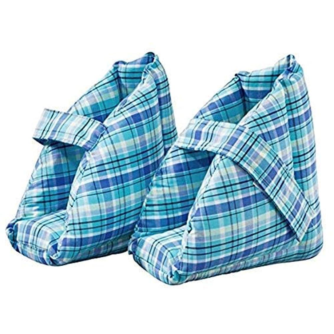 動員するハシーハンカチ足の枕、足の腫れに最適なヒールプロテクタークッション、コンフォートヒールの保護足枕、ワンペア