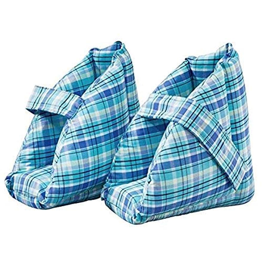 共産主義申込み寄付する足の枕、足の腫れに最適なヒールプロテクタークッション、コンフォートヒールの保護足枕、ワンペア