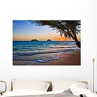 "Pacific Sunrise Lanikai Beach壁壁画by Wallmonkeys Peel and Stickグラフィックwm301359 48""W x 32""H - x Large FOT-17159357-48"