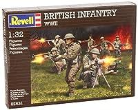 ドイツレベル 1/32 WW.II イギリス歩兵 02631 プラモデル