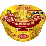 マルちゃん正麺 カップ うま辛担担麺 赤 120g×12個