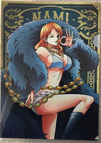ONE PIECE 限定 クリアファイル NAMI 20th anniversary