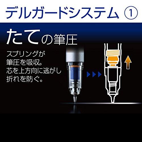 ゼブラ シャープペン デルガード タイプLx 0.5 レッド P-MA86-R