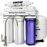 iSpring 123Filter ベストセラー 75GPD 5段階 逆浸透膜浄水システム、型番RCC7