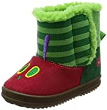 [はらぺこあおむし] ブーツ  HA01352 グリーン 14cm(14 cm) 2E