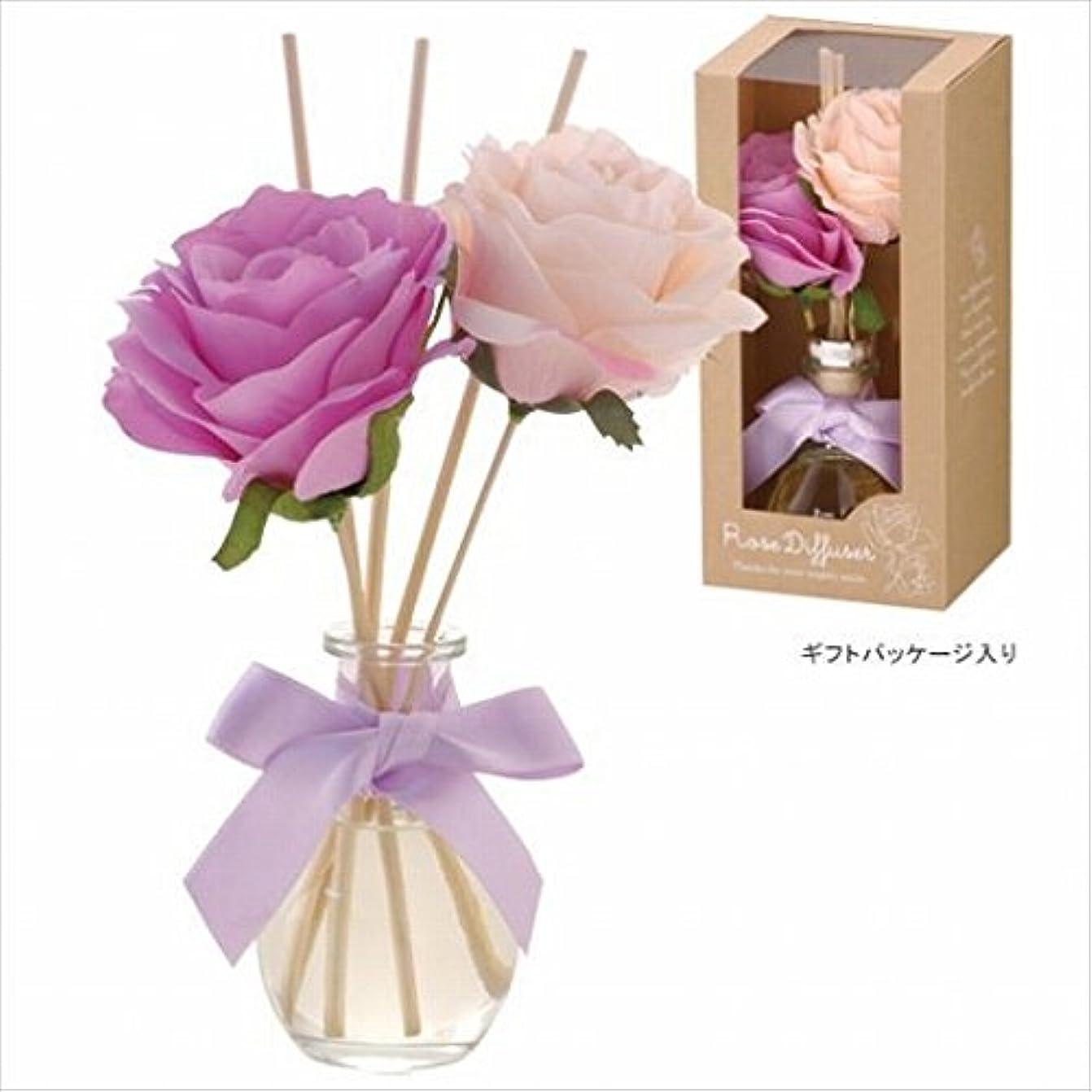 常習的一生南カメヤマキャンドル(kameyama candle) ハーモニーローズディフューザー 「 レディローズ 」6個セット