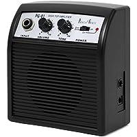PhotoGenic フォトジェニック 3W出力 ミニギターアンプ PG-01 (テスト駆動電池付)