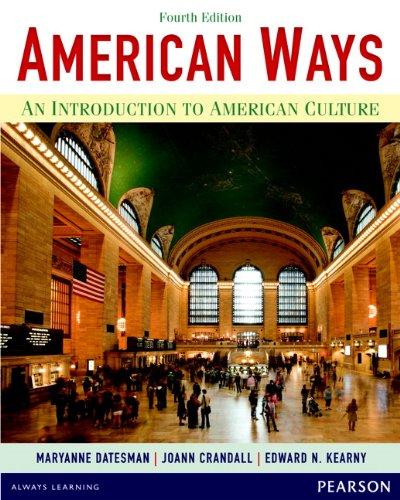 AMERICAN WAYS (4E) Student Book