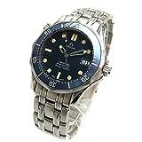[オメガ]OMEGA 腕時計 シーマスター300 プロフェッショナル ネイビー ミドル クリーニング済み ユニセックス 中古
