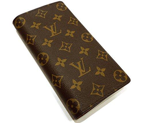LOUIS VUITTON ルイ・ヴィトン ポルトフォイユ・ブラザ 二つ折り長財布 モノグラム M66540【中古】