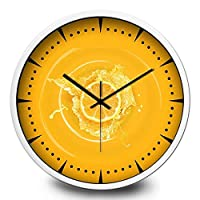 18-AnyzhanTrade 壁掛け時計サイレントムーブメント壁掛け時計ホームオフィスの装飾用リビングルームベッドルームとキッチン時計壁の壁eミュートクォーツ時計 (Color : A, サイズ : 12 In.)
