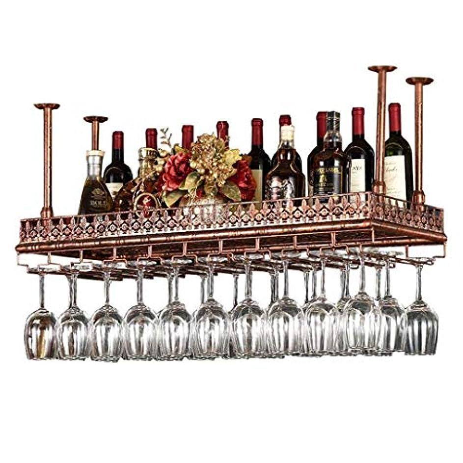 絶望骨髄ペンバーユニットフローティング棚ウォールシェルフ収納ラック、ワインボトルホルダー、天井のワインラック、LOFTヴィンテージウォールシェルフ収納ラックウォールマウント、マルチファンクションシェルフ、マルチサイズ