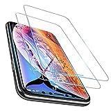 【2枚入り】iPhone Xs Max ガラスフィルム iPhone Xs Max 液晶保護フィルム【9H硬度・ 6倍強化・旭硝子製・気泡自動排除・耐スクラッチ・高透過率】 アイフォン/iPhone Xs Max フィルム(2018新型)(6.5
