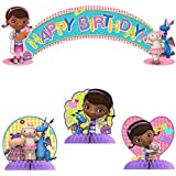 Doc McStuffins Party Kit Including Centerpiece and Banner [並行輸入品]