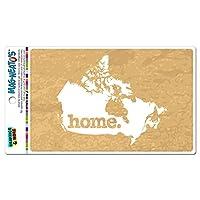 カナダホームカントリー MAG-NEATO'S(TM) ビニールマグネット - テクスチャゴールデン黄