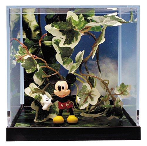 プラッツ アンド プランツ ディズニーキャラクターズジオラマシリーズ ミッキー&アイビー(斑入り)  5cm 塗装済み PVC PPD-002