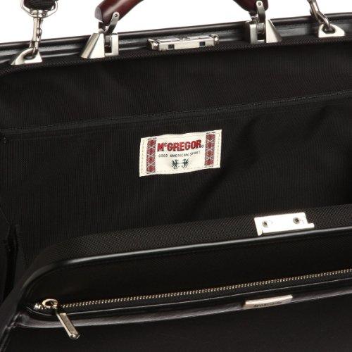 [マックレガー] McGregor 通勤対応日本製ナイロンダレスバッグMサイズ42cm 21957 BK (ブラック)