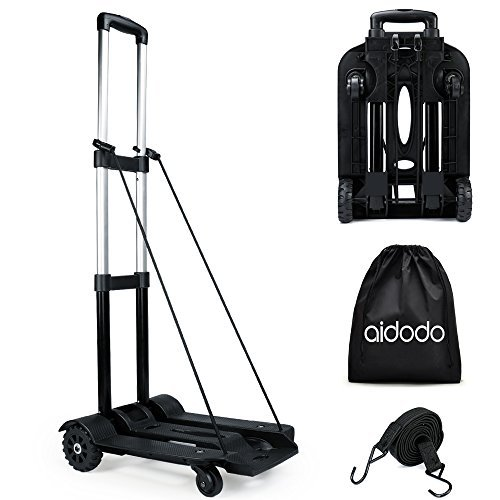 Aidodo キャリーカート 折りたたみ式 軽量 台車 ハンドキャリー 旅行用品 アウトドアカート キャンプ用