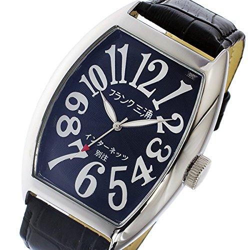 フランク三浦 インターネッツ別注 クオーツ メンズ 腕時計 FM06IT-BK ブラック 【ネット限定】[並行輸入品]
