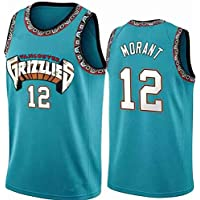 Men's Basketball Jerseys NBA Memphis Grizzlies 12# Ja Morant Embroidered Swingman Shirts Sleeveless Sweatwear