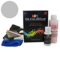 Dr。ColorChip Acura EL Automobileペイント–サテンシルバーメタリックnh-623m–squirt-n-squeegeeキット