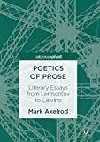 Poetics of Prose: Literary Essays from Lermontov to Calvino (English Edition)