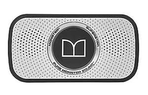 【国内正規品】Monster SUPERSTAR ワイヤレスポータブルスピーカー Bluetooth対応 防滴仕様 シルバー MH SPSTR GY