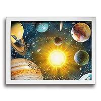 Lingaile 絵画 壁画 版画装 飾絵画 キャンバス ソファ 背景壁 壁掛け 絵画 レストランベッドルーム 木製の枠 インテリア絵画 40*30cm