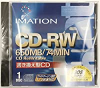 Imation 12381 CD-RW, 74 Minute, 650 MB, 4x (Single with Jewel Case) (Discontinued by Manufacturer) [並行輸入品]