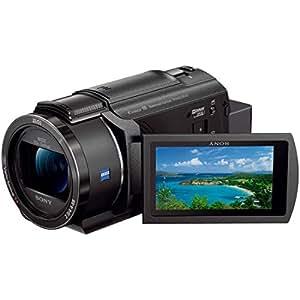 ソニー SONY ビデオカメラ FDR-AX45 4K 64GB 光学20倍 ブラック Handycam FDR-AX45 BC