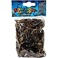 Official Rainbow Loom 600 Ct. Rubber Band Refill Pack PERSIAN BLACK [Includes 24 C-Clips!] [並行輸入品]