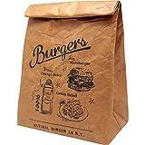 プライムナカムラ クラフトフード 保冷バッグ バーガー ランチバッグ (H33cm×20cm×12cm) PN-2079