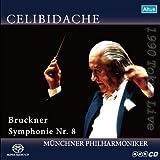 ブルックナー: 交響曲第8番ハ短調WAB108 (Bruckner : Symphonie Nr.8 / Celididache, Munchner Philharmoniker) [SACD シングルレイヤー] 画像