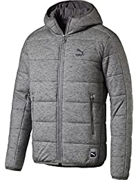 プーマ PUMA HEATHER PADDED OUTERWEAR グレー 572181 03 XXL