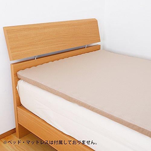 昭和西川 ムアツ パッド シングル 3.5×97×195cm お持ちの寝具に重ねるタイプ