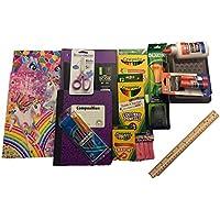 Back to School SuppliesバンドルIncludes Crayolaマーカー/色鉛筆/クレヨン、Elmers接着剤/接着剤スティックコンポジションブック、ワイドルールド、スパイラルノートワイドルールド、鉛筆ボックス、フォルダand More。