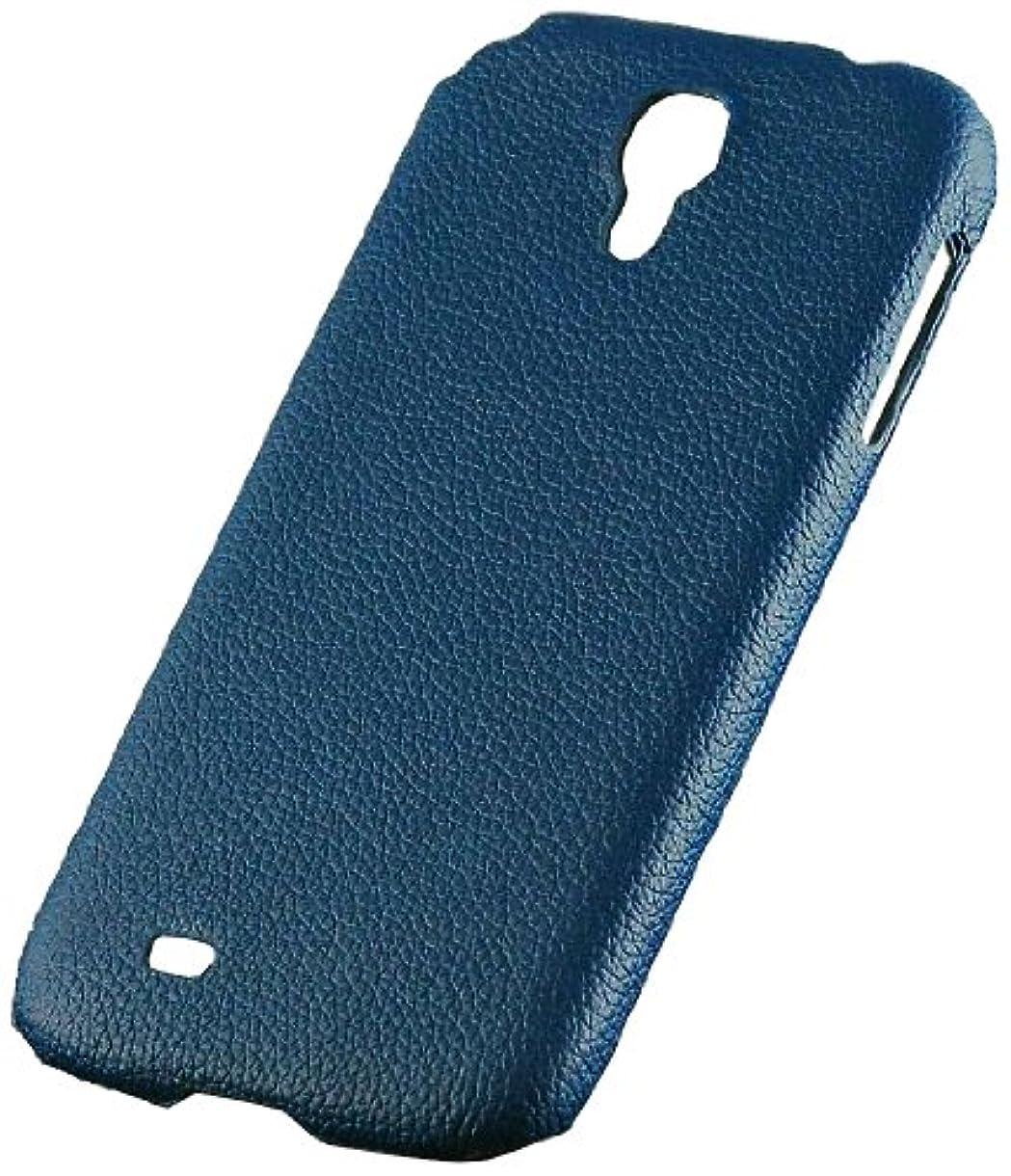 冒険者割り当てます感じレメックス?ジャパン Leather Case for GALAXY S4 (SC-04E) 本革片面カバー ネイビー Rg4-L005-NB