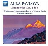 パヴロワ:交響曲第2番,第4番