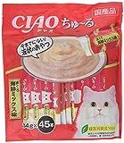 チャオ (CIAO) 猫用おやつ ちゅ~る まぐろ 海鮮ミックス味 14g×45本入 いなばペットフード