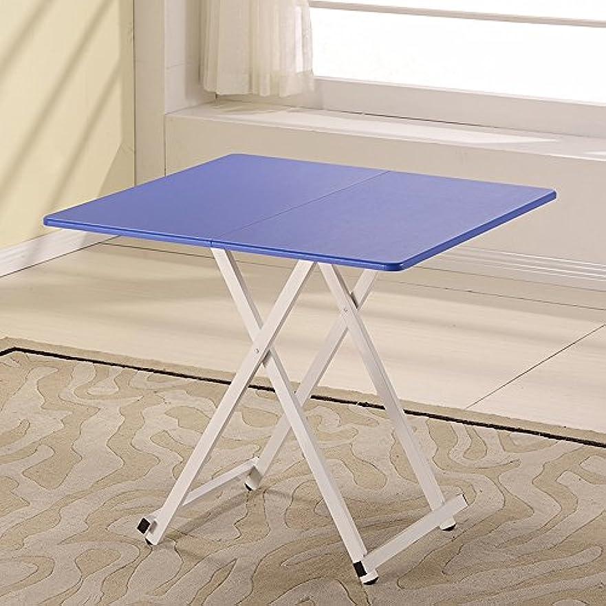 理容師見込みリクルートLJHA zhuozi 折りたたみテーブル/正方形テーブル/ポータブルテーブル/子供のライティングデスク/ラップトップテーブル/ホームソリッドウッドストレージテーブル/ 80 * 80 * 72CM (色 : F f)